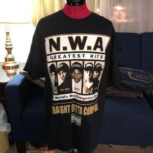 NWA Straight Outta Compton Shirt. Size XL